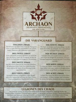 Varanguard, caballería de los Everchosen de Archaon