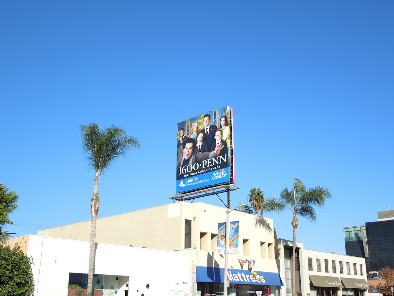 1600 Penn NBC billboard