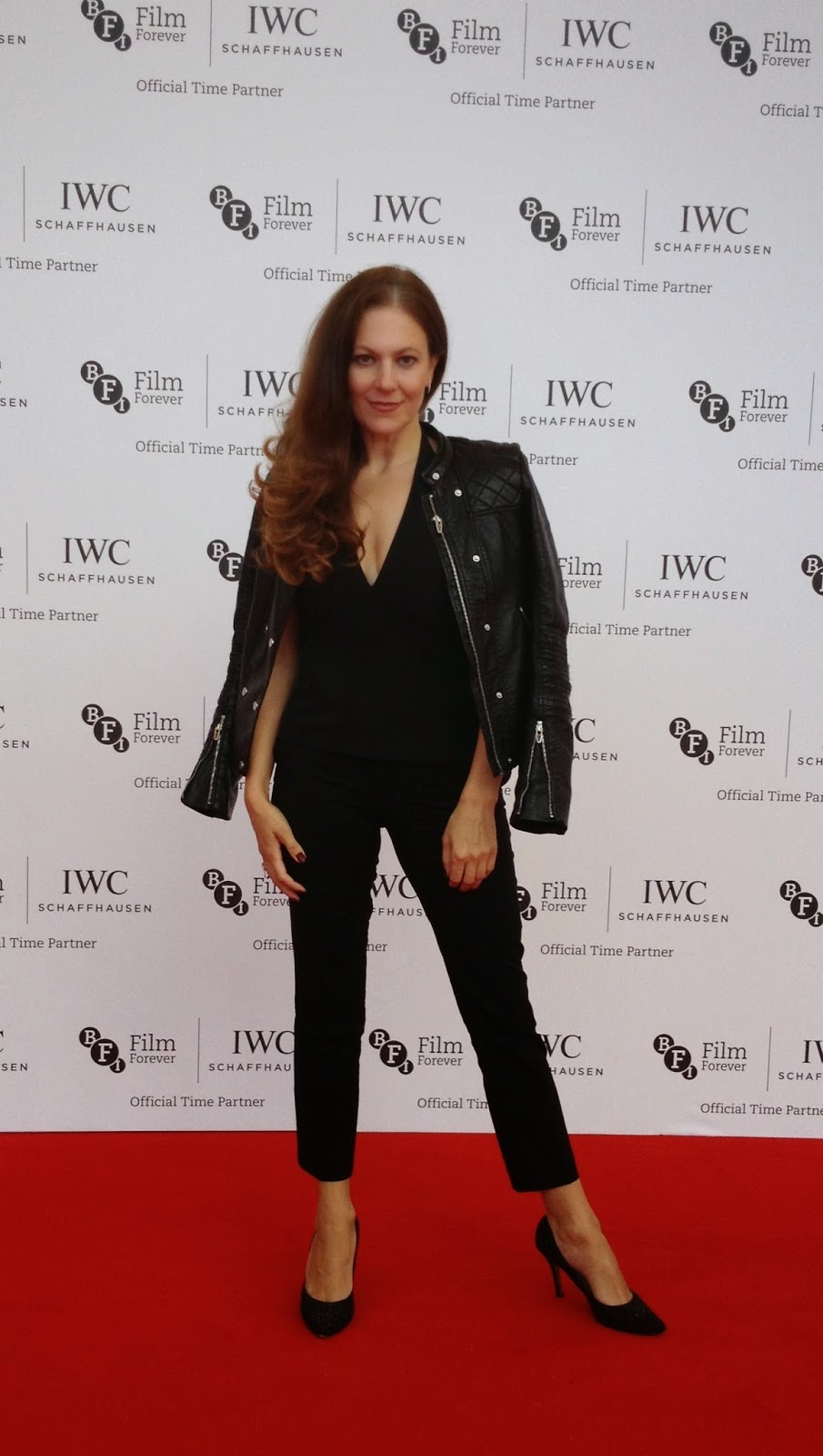 Black sheep:  Gg Rogers opted to sport a different look to her peers at the IWC gala dinner in London