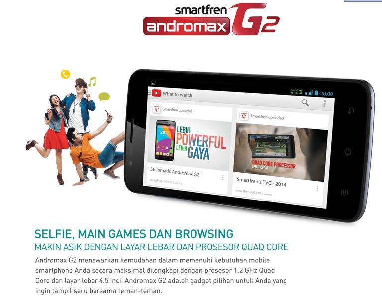 HP Andromax G2 Smartfren