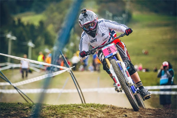 2014 Hafjell UCI World Championship Downhill: Manon Carpenter's Finals Run