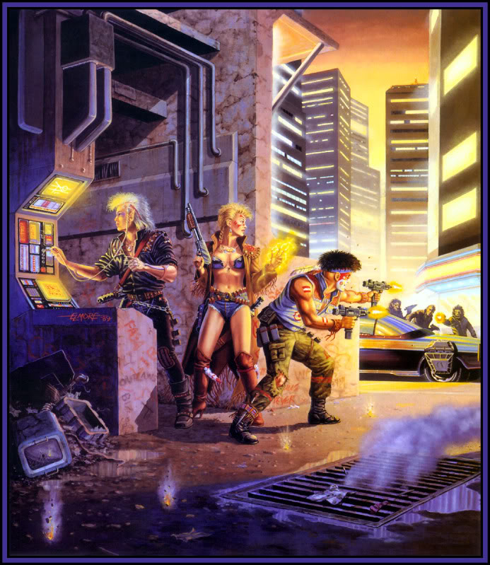 Shadowrun 1st cover