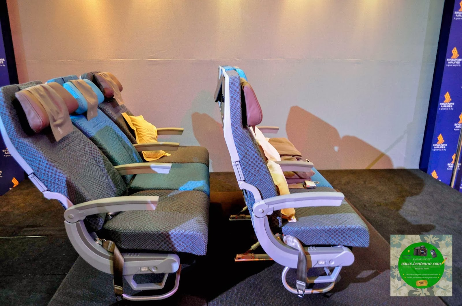 Singapore Airlines' New Economy Class cabin