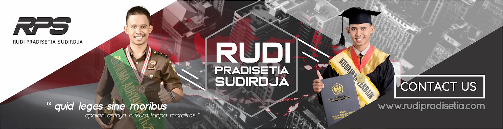 Rudi Pradisetia Sudirdja