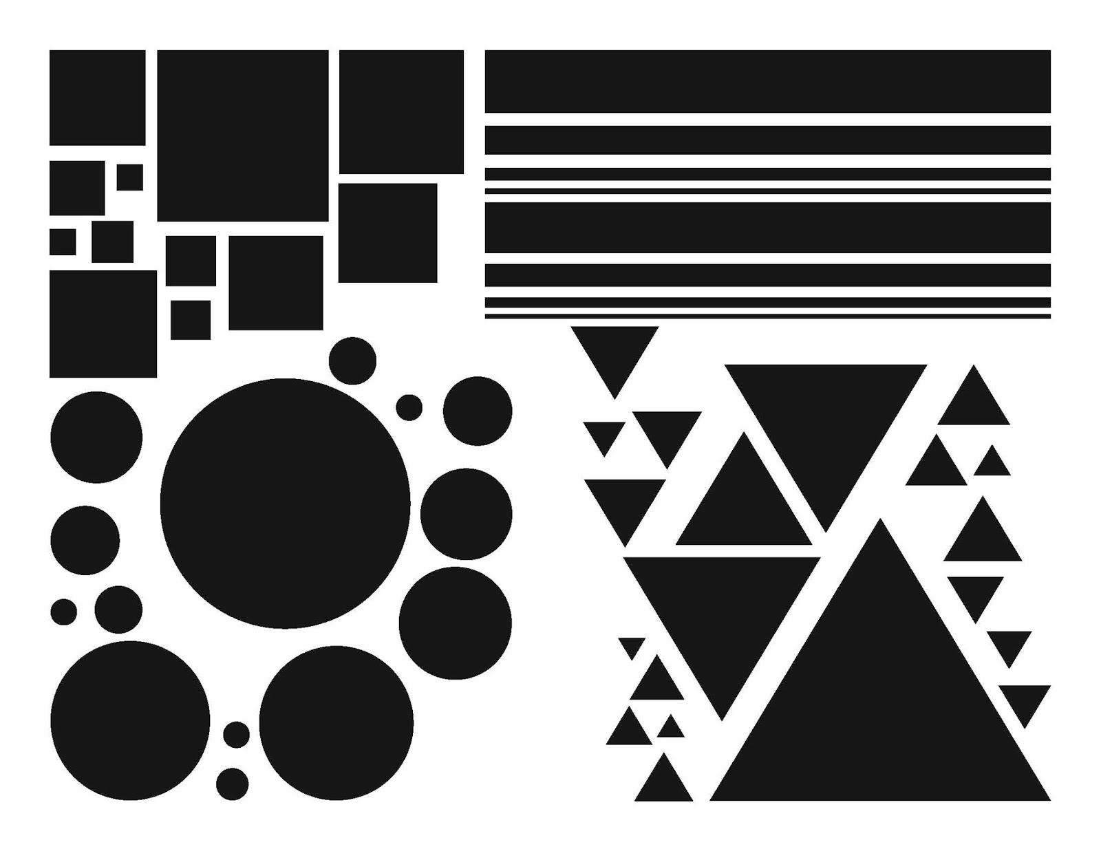 Basic Design And Visual Arts : Mc school art graphic design cut paste basic compositions