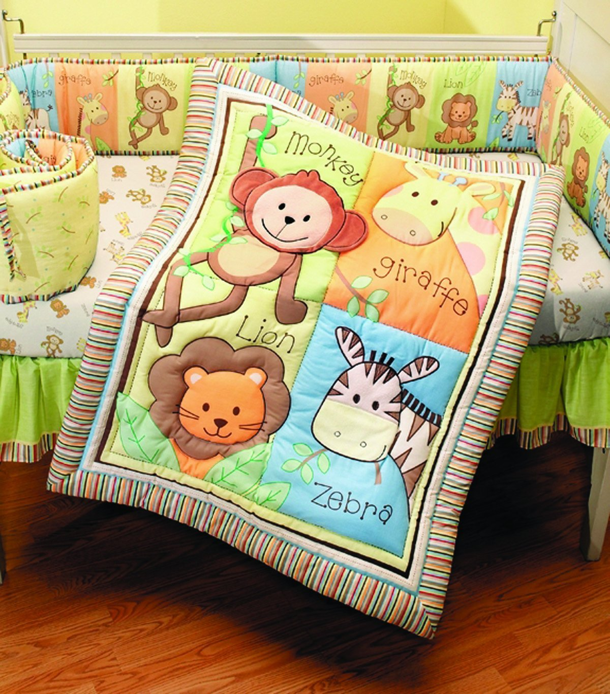 Monkey Themed Twin Bedding