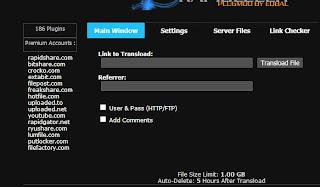 Rapidshare.com bitshare.com crocko.com extabit.com filepost.com freakshare.com hotfile.com uploaded.to uploaded.net youtube.com rapidgator.net ryushare.com lumfile.com putlocker.com,