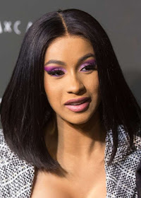 Cardi B  hair makeup
