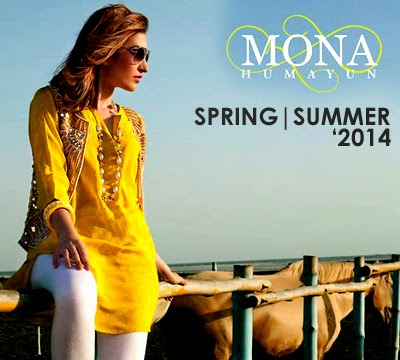 Mona Humayun Summer Collection 2014