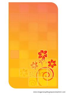 tarjetas con flores para imprimir