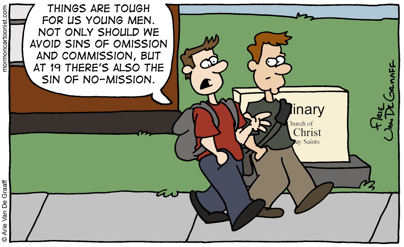 Mormon Cartoonist: Sins of Omission, Commission, and...