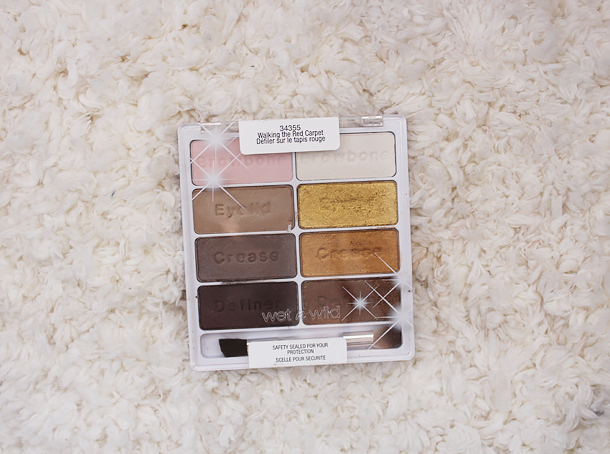 wet n wild walking the red carpet palette review