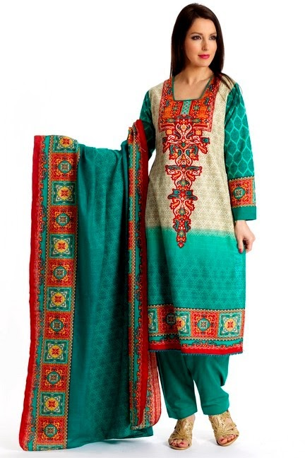 Printed Salwar Kameez Embroidered Dresses