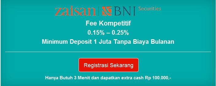 Cara Membuka Akun Trading Saham Online di BNI Securities
