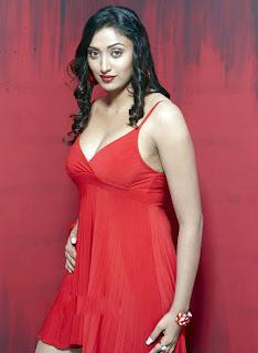 Actress Megha Nair Hot in Red Skirt photos