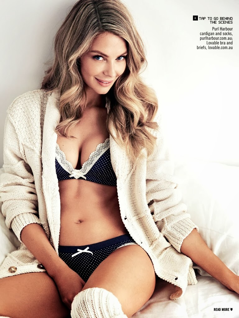 Jennifer Hawkins HQ Pictures Sunday Style  Magazine Photoshoot February 2014