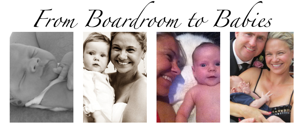 From Boardroom to Babies