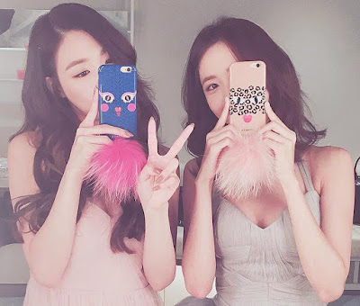 SNSD Tiffany and YoonA SelCa