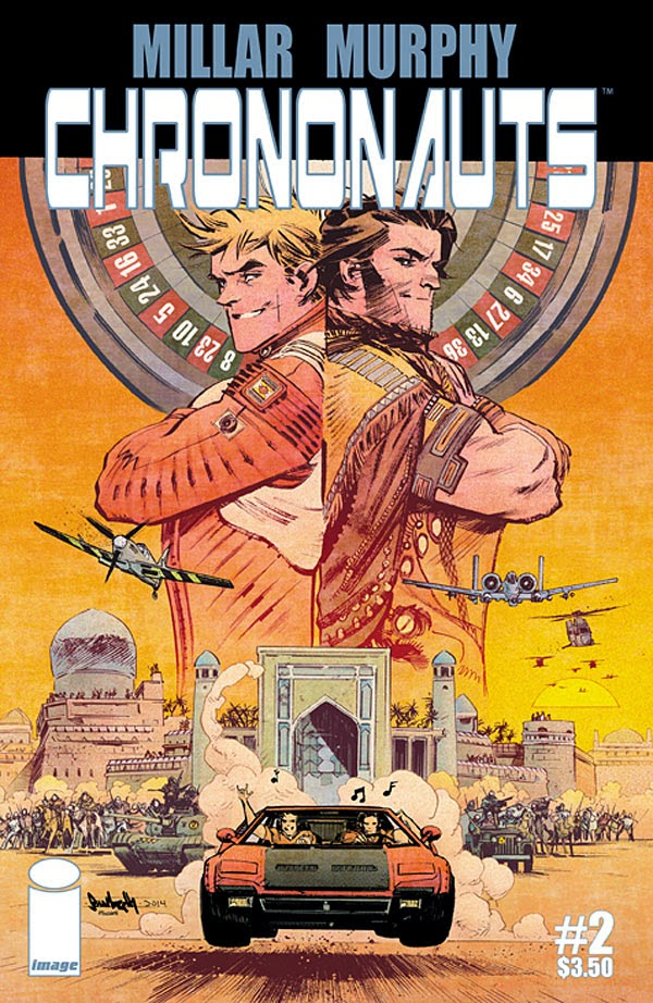 Murphy Hollingsworth Chrononauts #2 cover artwork