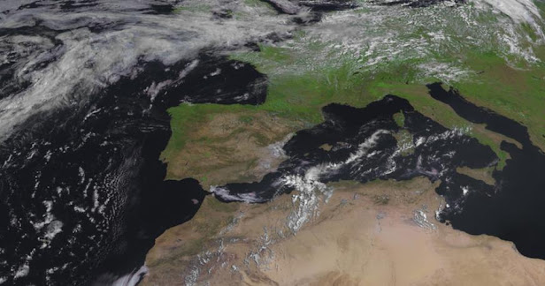 España satélite Meteosat 10