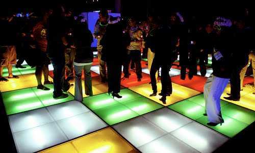 clubbing dance floor