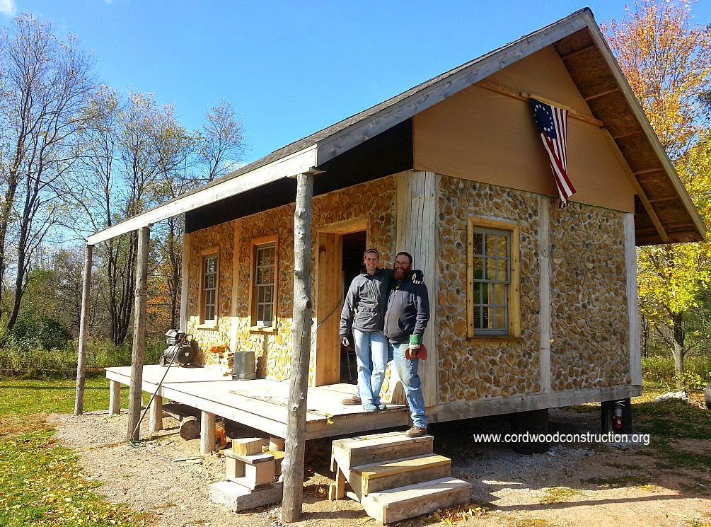 The high cost of this low living i finally found another for Cordwood house cost