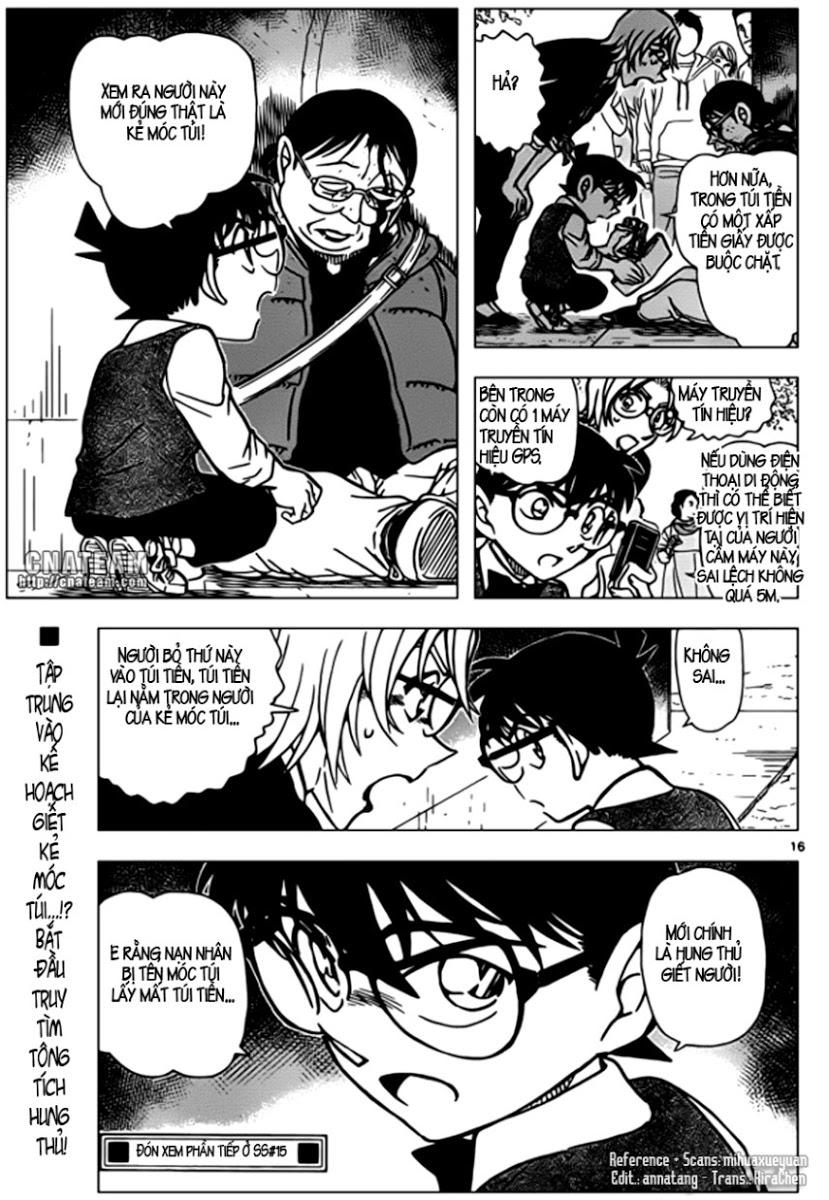 Detective Conan - Thám Tử Lừng Danh Conan chap 850 page 17 - IZTruyenTranh.com