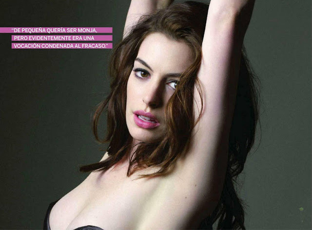 Anne Hathaway-Spain October 2011