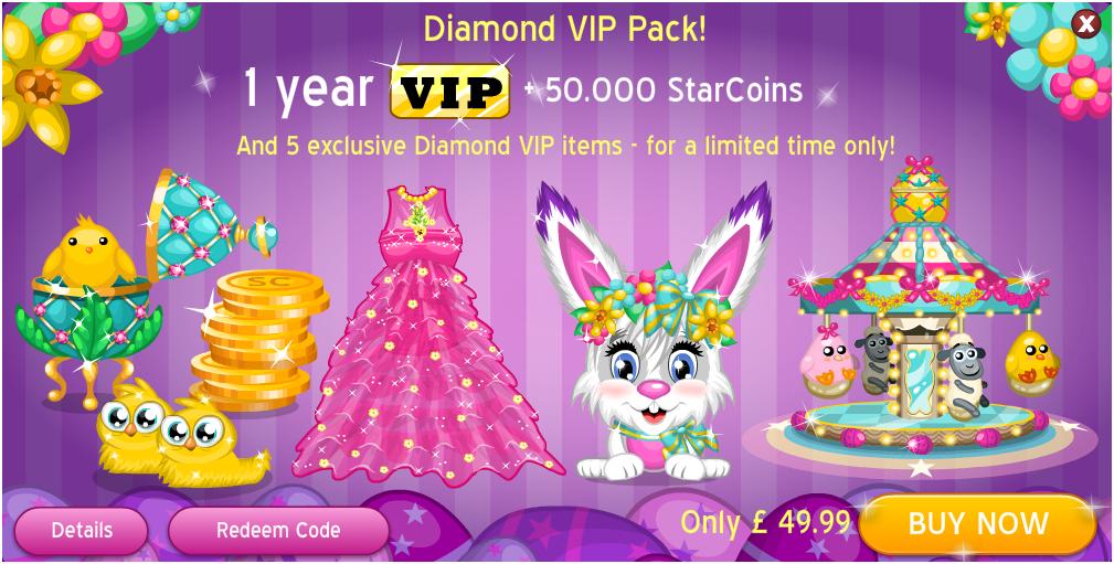 Movie Star Planet VIPs