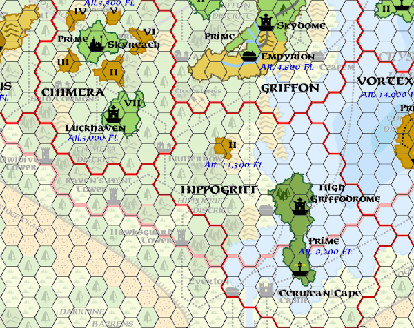 Mystara Alphatia Ar Hippogriff Hex Map
