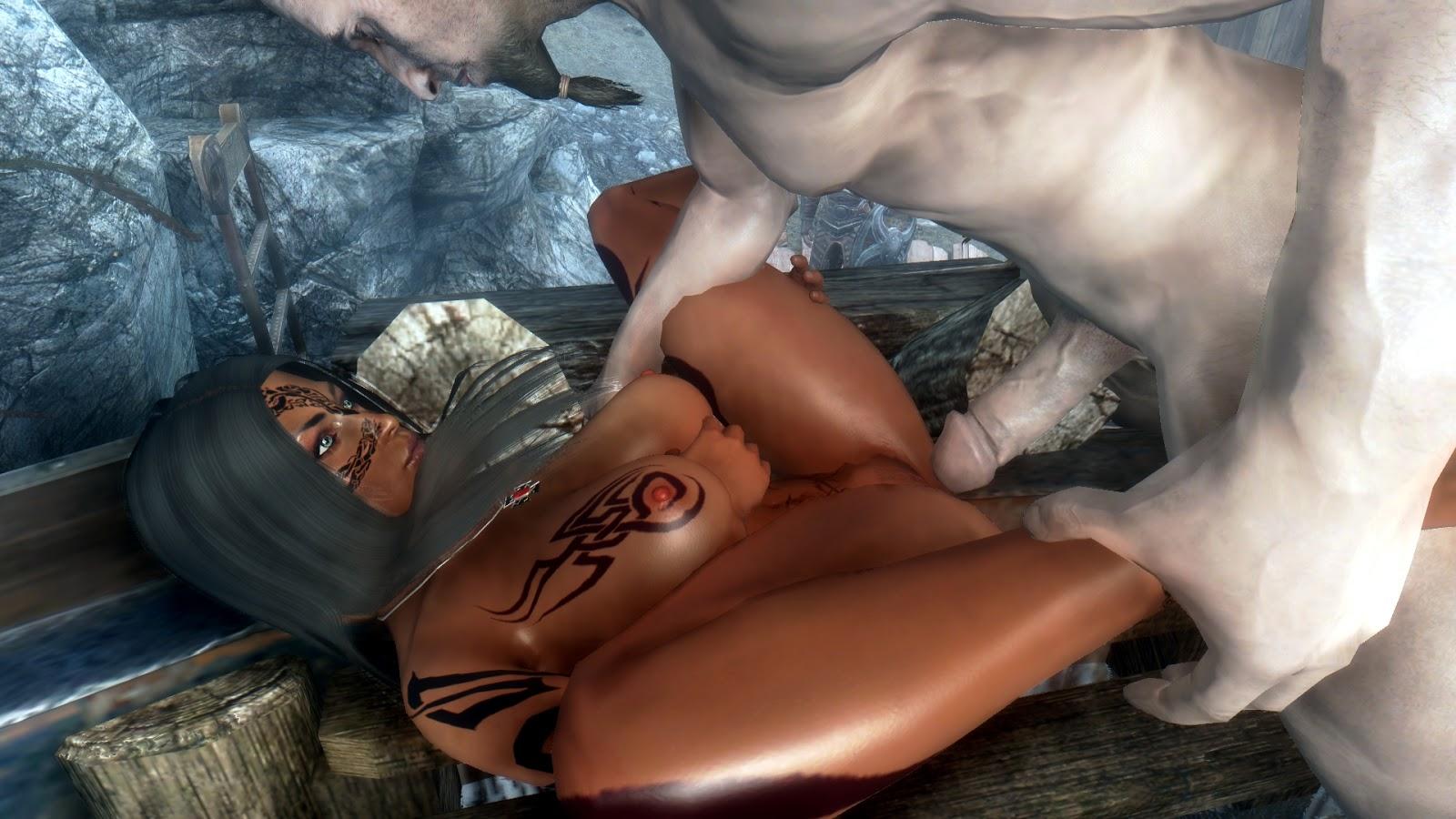 Skyrim adult mods nude adult clip