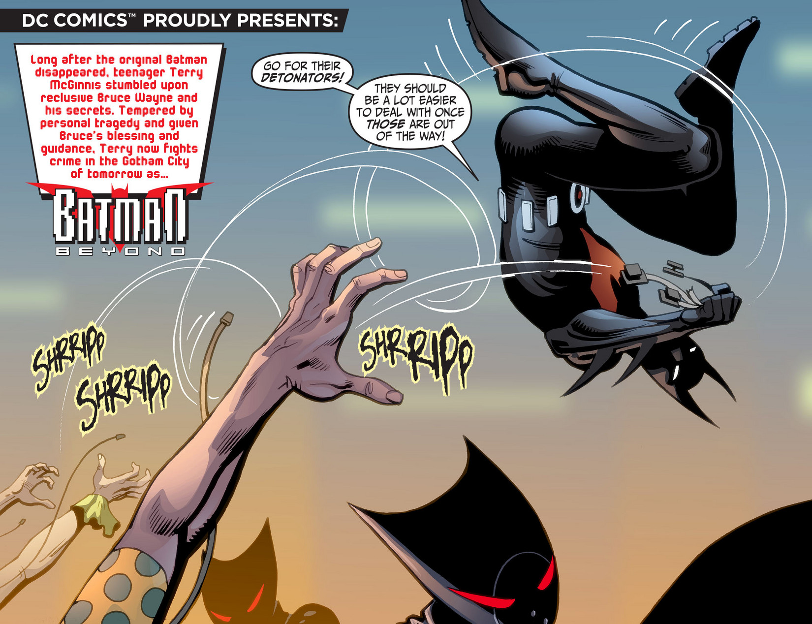 Batman Beyond (2012) Issue #13 #13 - English 4