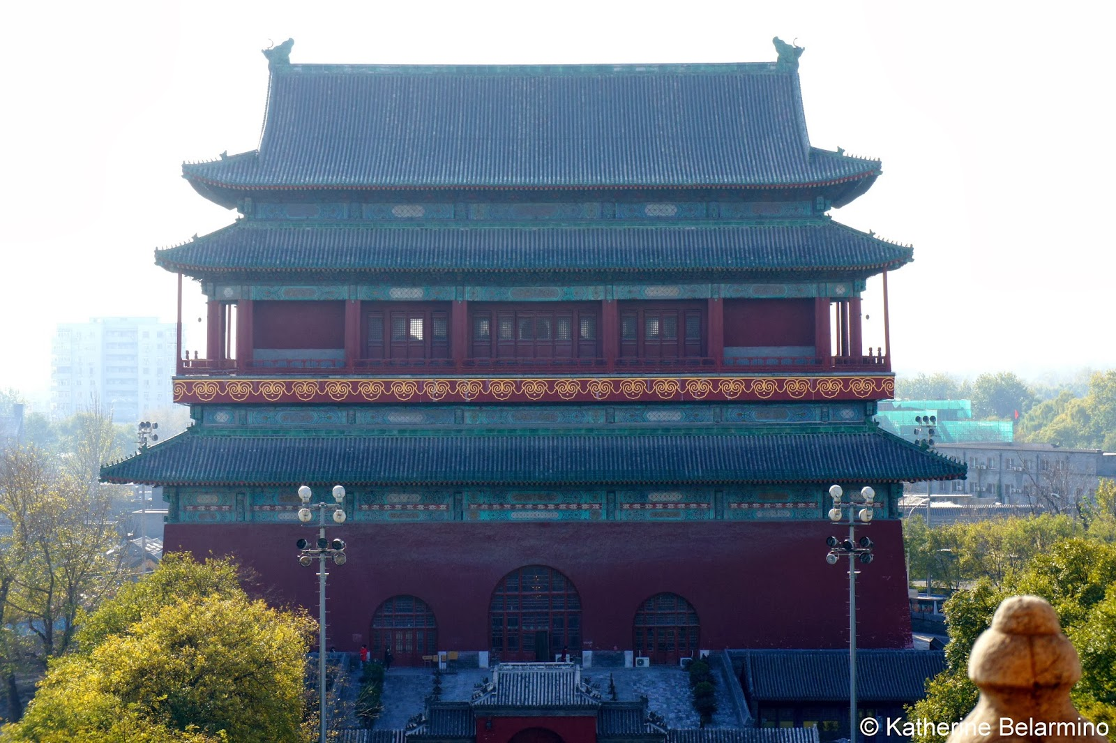 Drum Tower Beijing China