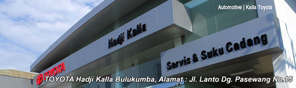 Harga Mobil TOYOTA Hadji Kalla BULUKUMBA, Sulawesi Selatan