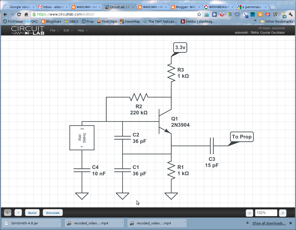 Wa0uwh Electronics Ham Radio Blog March 2012 Circuitlab Voltage Controlled Switch Off State Resistance 01 Oscillator Schematic Via At Http Googl 9ly8p