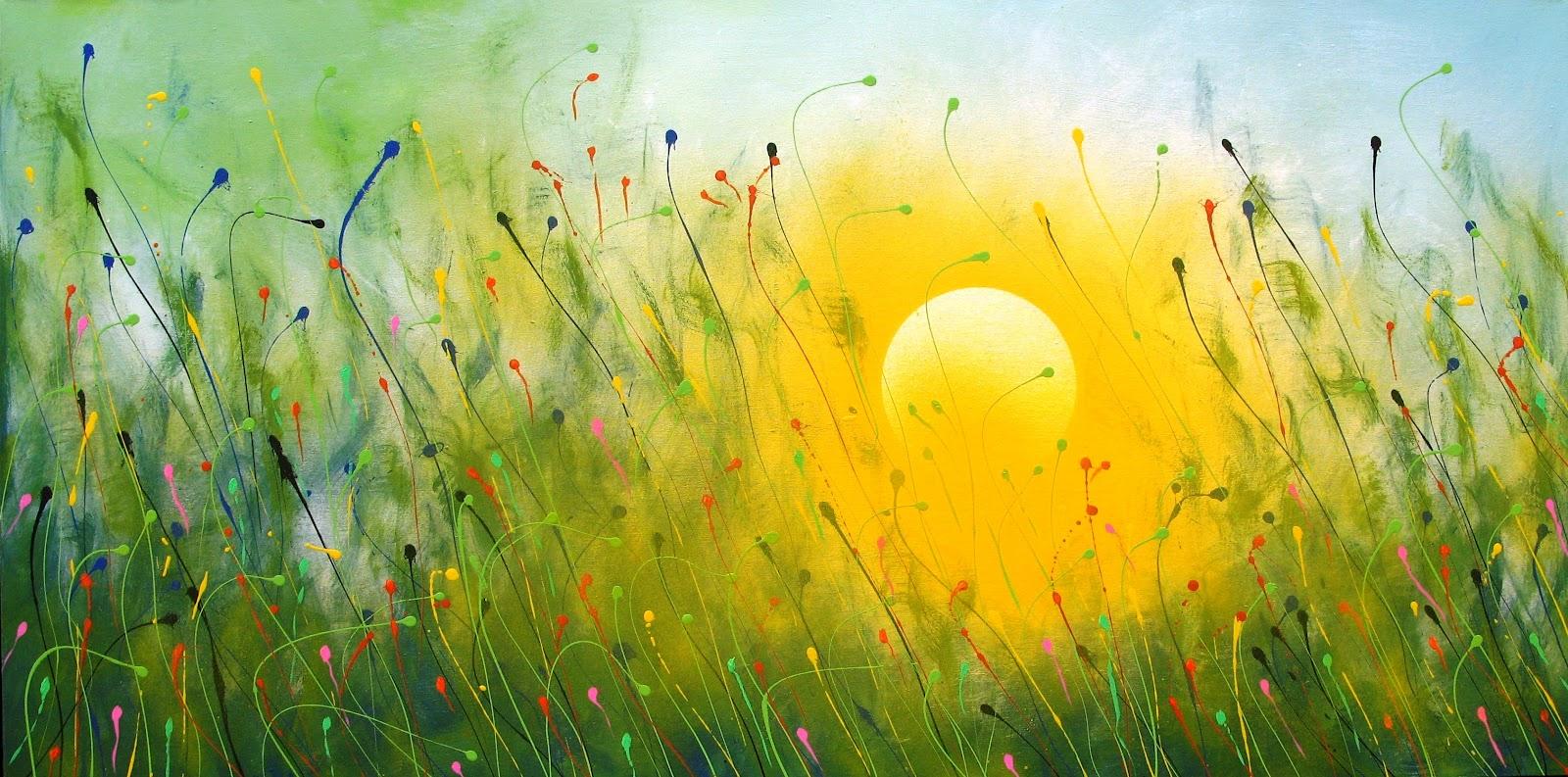 Im genes arte pinturas paisajes abstractos - Los cuadros mas bonitos ...