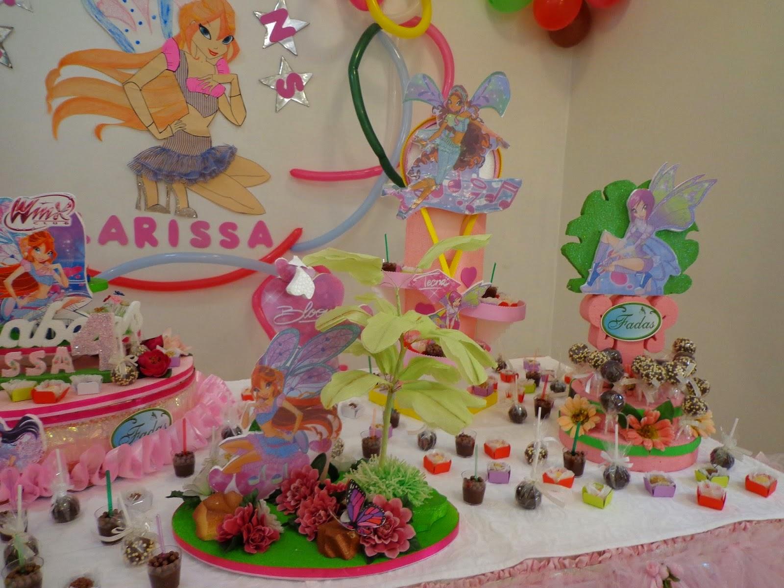 decoracao festa winx:Festa Winx Club ~ Alegra Festa