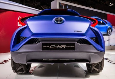 2016 Toyota CHR Release