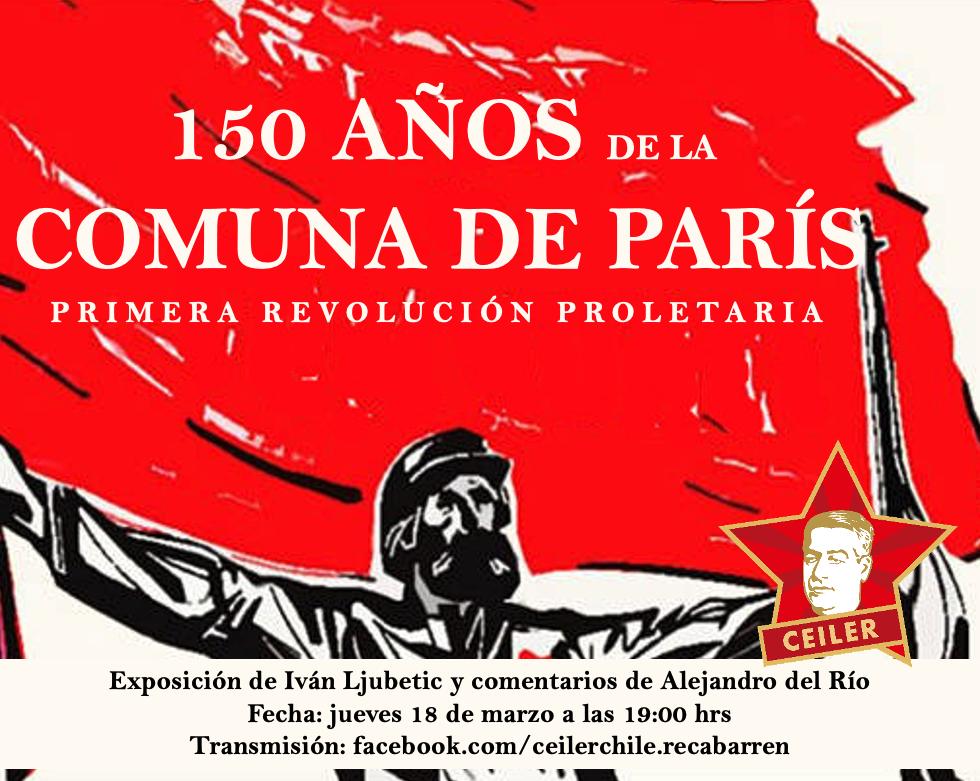 HOMENAJE CEILER: 150 AÑOS DE LA COMUNA DE PARIS