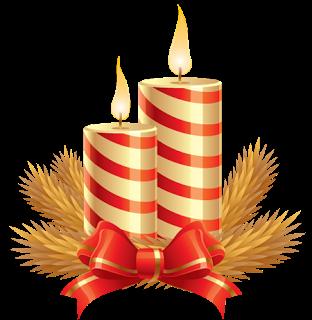 Para imprimir im genes de velas navide as - Velas de adorno ...
