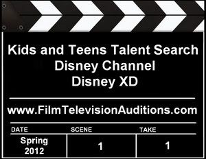 2012 Disney Channel Disney XD Open Casting Call