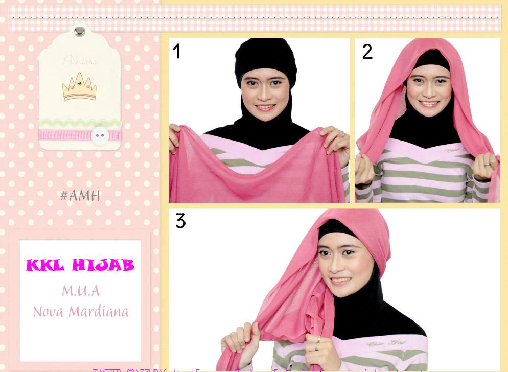 KkL Hijab: TUTOR HIJAB JILBAB SEGI TIGA