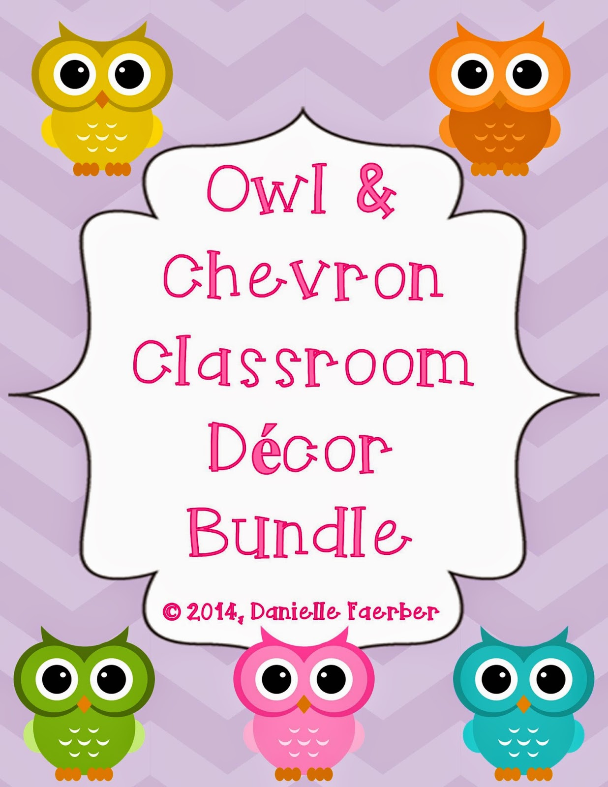 http://www.teacherspayteachers.com/Product/Owl-and-Chevron-Classroom-Decor-Bundle-808047
