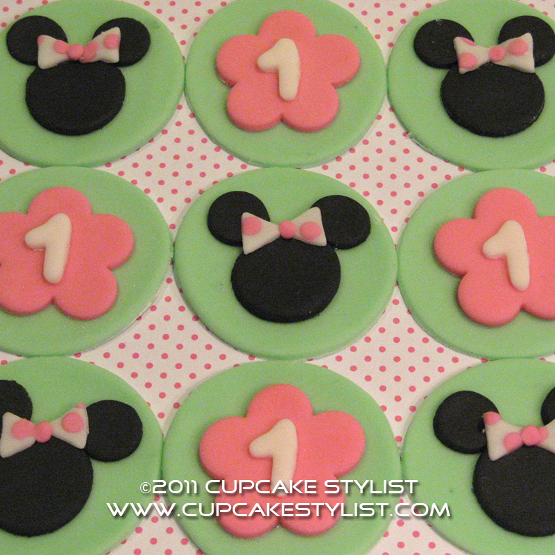 Minnie Mouse Cake Topper Nz