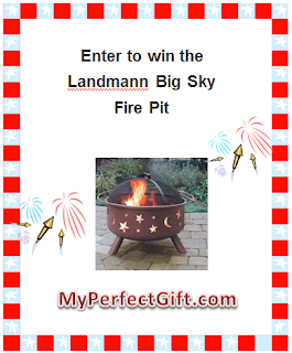 Enter to win the Landmann Big Sky Fire Pit. Ends 7/4.
