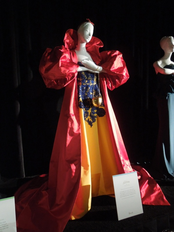 Harrods Once Upon A Dream Disney Princess Snow White gown
