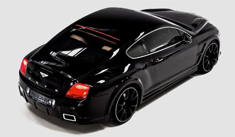 Bentley Continental GTO Concept Onyx Cars