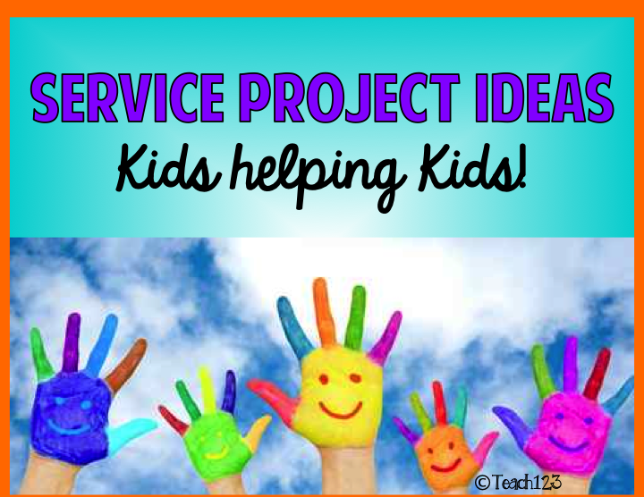 school service projects Students who participate in service-learning projects students can earn service-learning credit by participating in a classroom service project, an after-school.