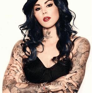 Kat Von D tatuadora profesional