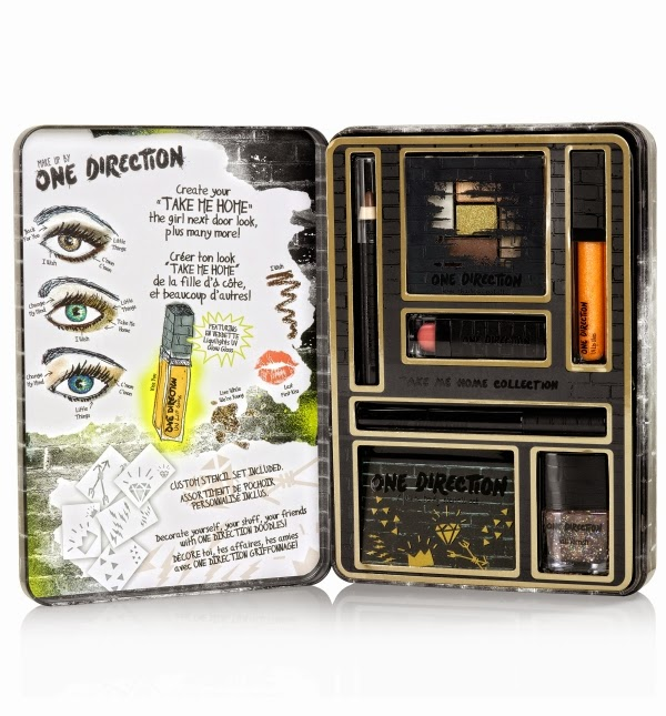 Take Me Home Collection Makeup by One Direction